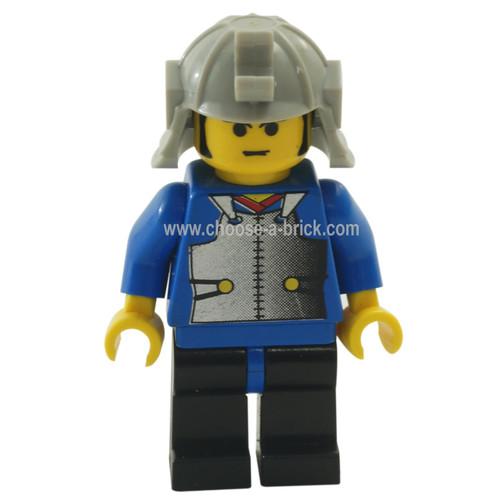 LEGO Minifigure - Ninja - Samurai Blue Young