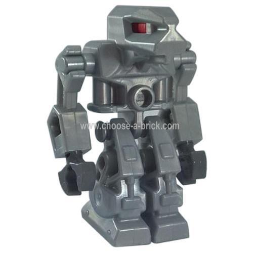 LEGO Minifigure - Robot Devastator 4 - Red Eyes