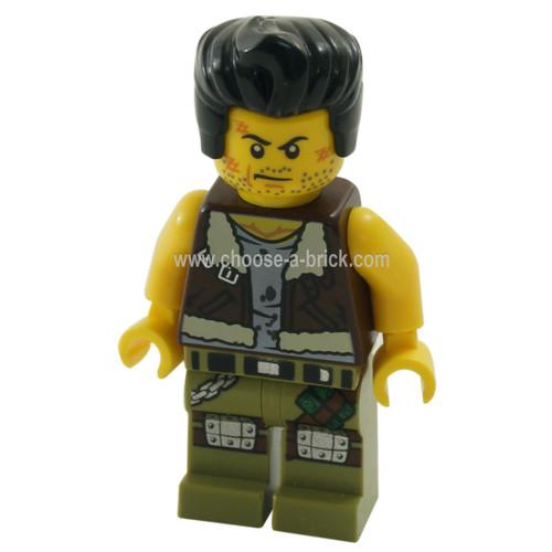 LEGO Minifigure - Frank Rock