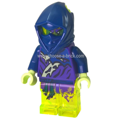 LEGO Minifigure - Ghost Ninja Attila - No Scabbard (70735)