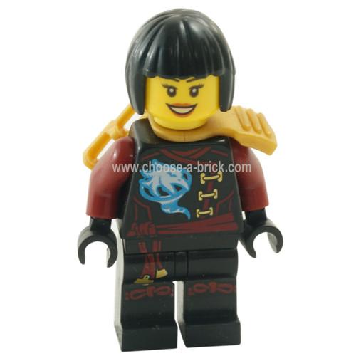 LEGO MInifigure - Nya - Skybound, Hair 70592