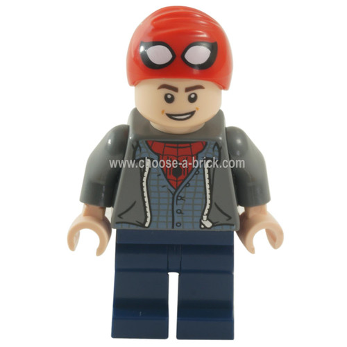 LEGO Minifigure - Peter Parker - Spider-Man Cap