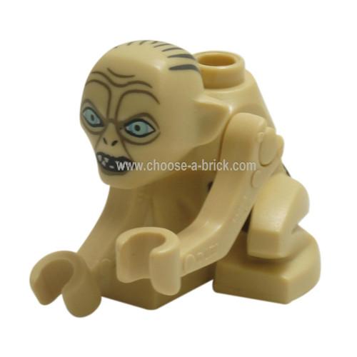 LEGO Minifigure - Gollum - Wide Eyes