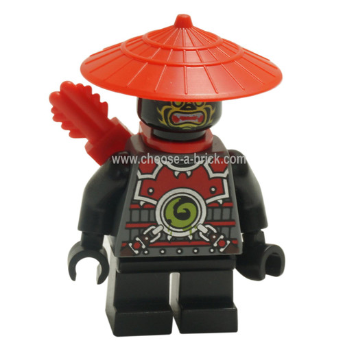 LEGO Minifigure - Scout - Yellow Face Markings