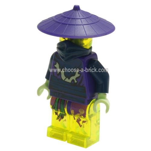 LEGO Minifigure - Ghost Warrior Cowler (70733)