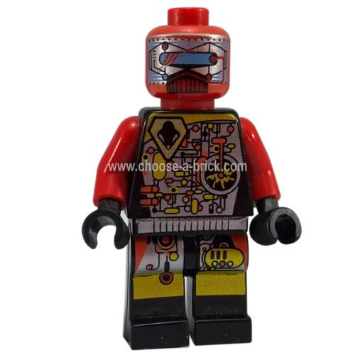 LEGO Minifigure - UFO Droid Red