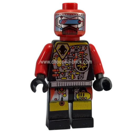 LEGO Minifigure - UFO Droid Red