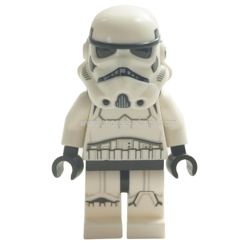 LEGO Minifigure - Stormtrooper (Dual Molded Helmet, Gray Squares on Back)