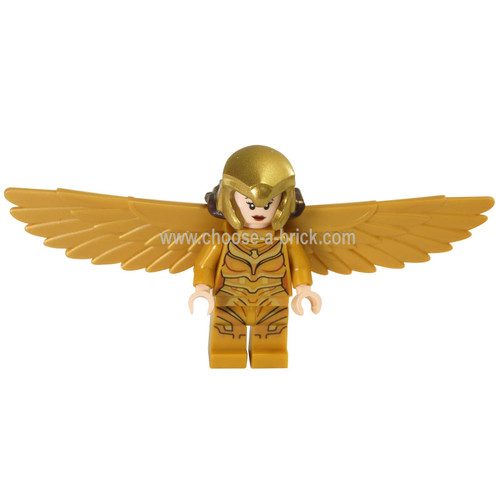 LEGO Minifigure - Wonder Woman (Diana Prince) - Gold Wings