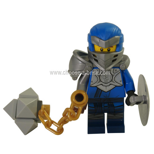 LEGO MInifigure - Jay with weapons- Master of the Mountain