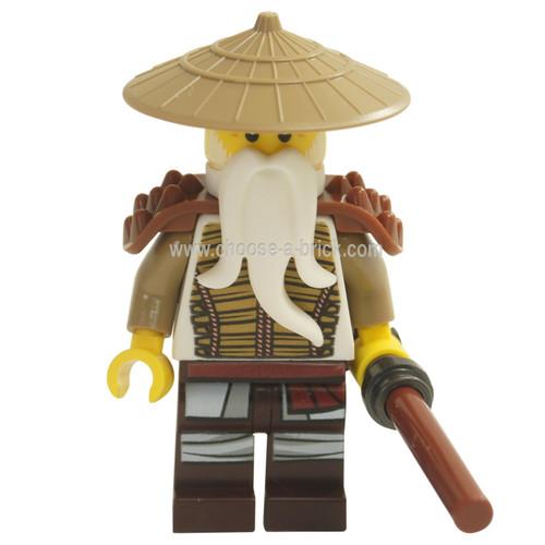 LEGO MInifigure - Hero Wu (71718) with weapon