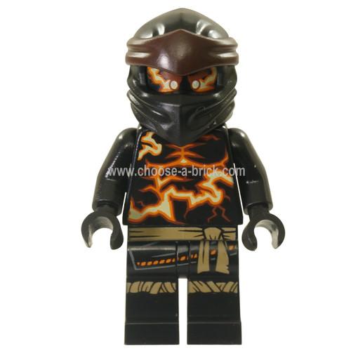 LEGO Minifigure -  Cole - Spinjitzu Burst