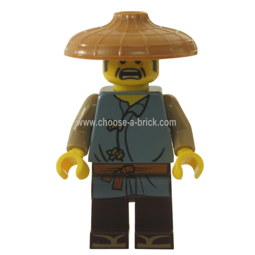 LEGO Minifigure Ninjago  - Ray, Conical Hat
