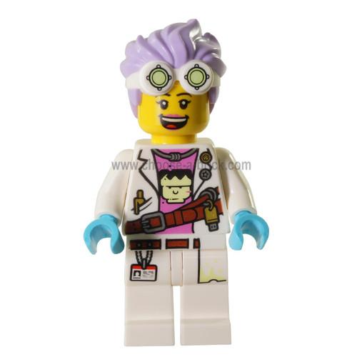 LEGO MInifigure - J.B. Watt Open Smile - Scared