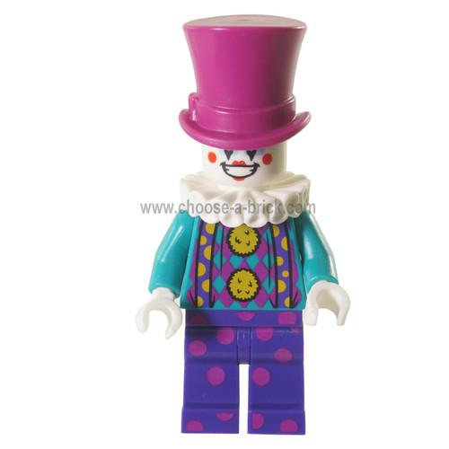 LEGO MInifigure - LEGO MInifigure -Parker L. Jackson - Denim Jacket with Headphones Smile - Grumpy