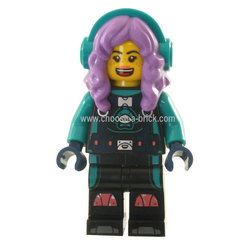 LEGO MInifigure - Parker L. Jackson - Diving Suit with Headphones
