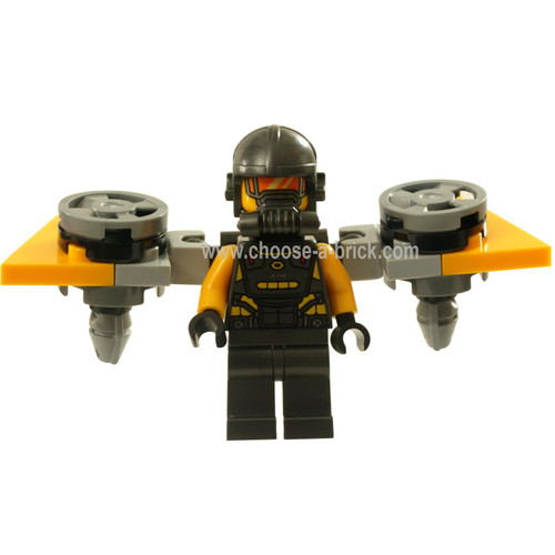 LEGO MInifigure - AIM Agent - Rocket Wings
