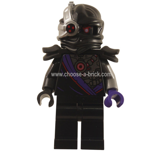 LEGO Minifigures - Nindroid Warrior with Black Shoulder Pads - Legacy