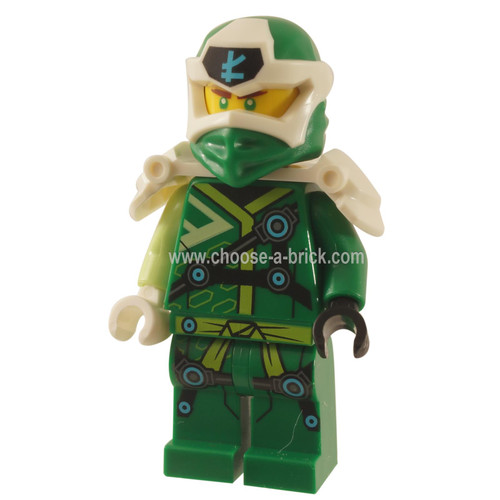 LEGO Minifigure -  Lloyd - Digi Lloyd, Armor Shoulder,