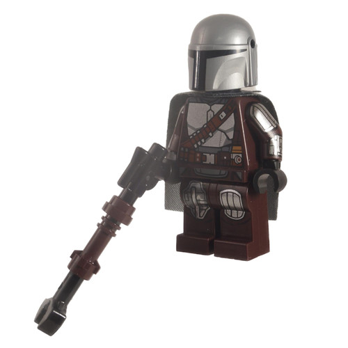 The Mandalorian Din Djarin - 'Mando' - Silver Beskar Armor