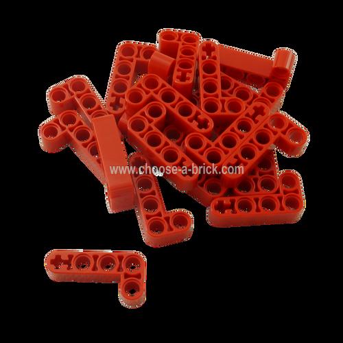 Technic, Liftarm 2 x 4 L-Shape Thick Red