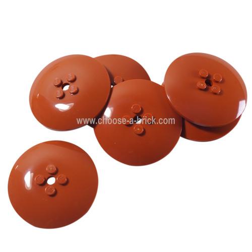 Dish 6 x 6 Inverted (Radar) - Solid Studs dark orange