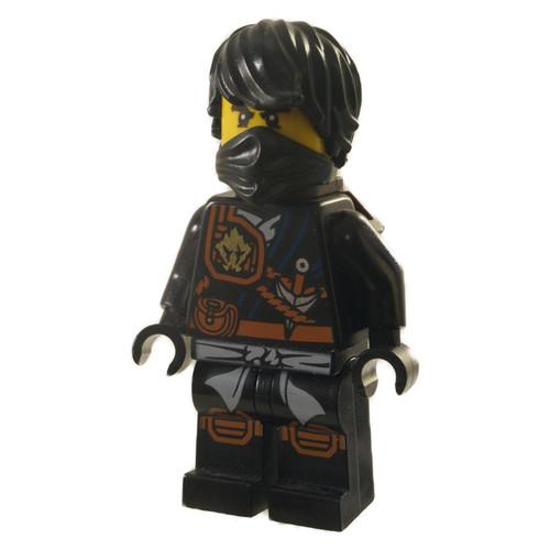 LEGO Minifigure Ninjago - Cole - Knee Pads with Scabbard