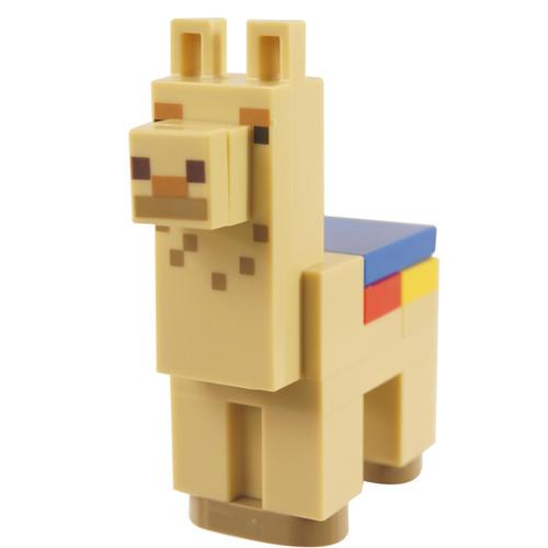 Minecraft Alpaca / Llama, Tan - Brick Bulit