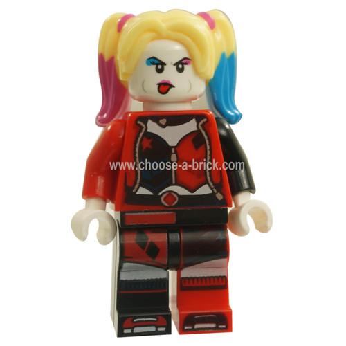 Harley Quinn - Jacket Open, Corset LEGO