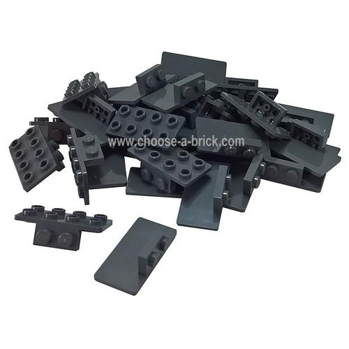 Bracket 1 x 2 - 2 x 4 dark bluish gray