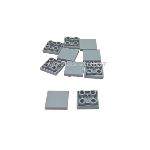 Tile, Modified 2 x 2 Inverted light bluish gray
