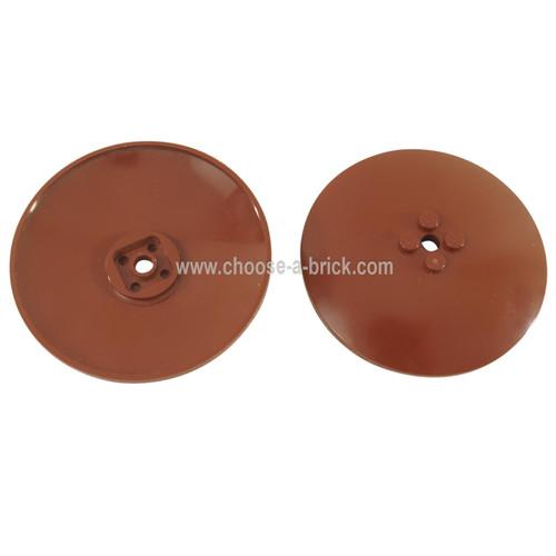 Dish 8 x 8 Inverted (Radar) - Solid Studs