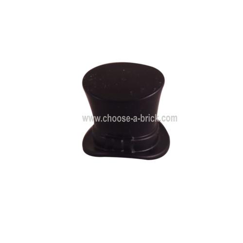 Minifigure, Headgear Hat, Top Hat with Ribbon