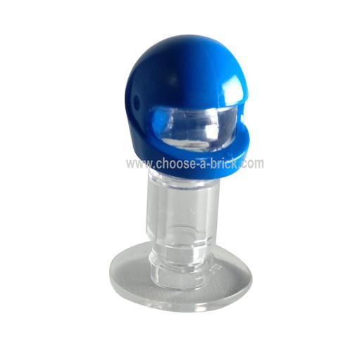 Minifig, Headgear Helmet Standard blue