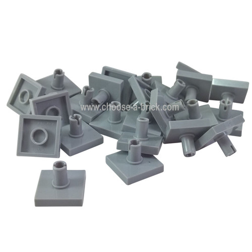 Tile, Modified 2 x 2 with Pin light bluish gray
