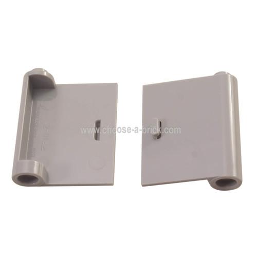 Door 1 x 3 x 3 Right - Open Between Top and Bottom Hinge (New Type) light bluish gray