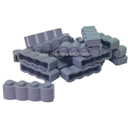 Brick, Modified 1 x 4 Log light bluish gray