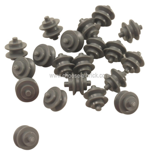 Wheel Center Small with Stub Axles (Pulley Wheel)