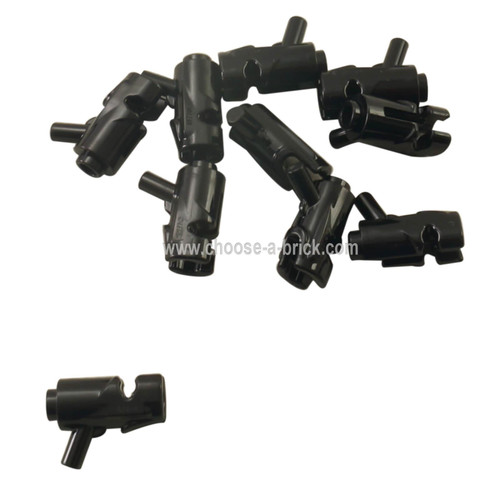 Minifig, Weapon Gun, Mini Blaster / Shooter black