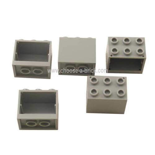 Container, Cupboard 2 x 3 x 2 light bluish gray