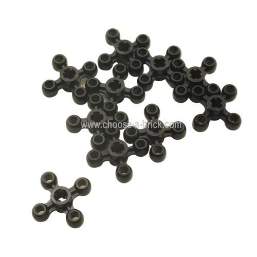 Technic Knob Cog / Gear / Wheel black