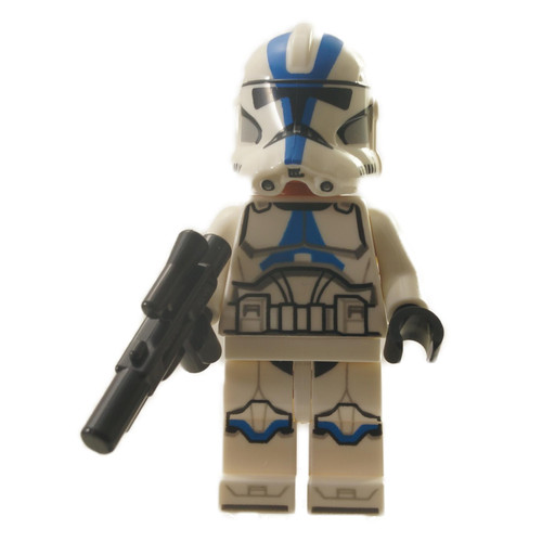 501st Legion Clone Trooper - Detailed Pattern with weapon
