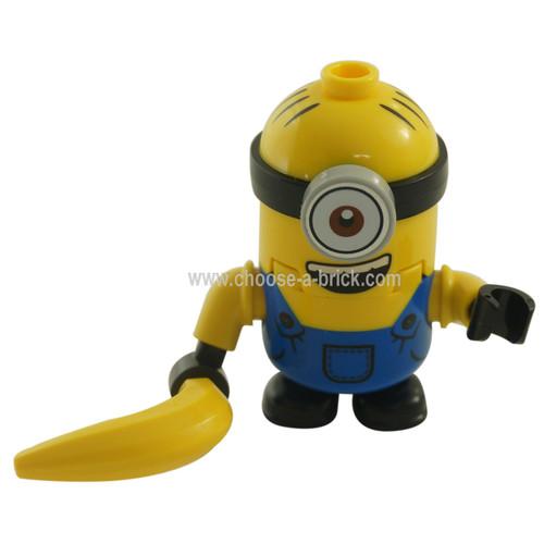 minion Stuart with banana LEGO Minifigure