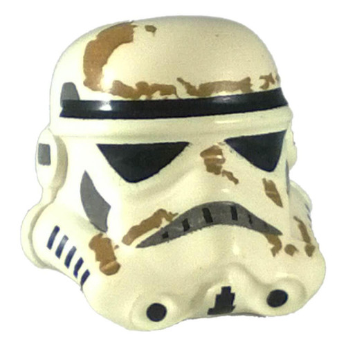 Headgear Helmet SW Stormtrooper 2 Chin Holes and Dirt Stains Pattern