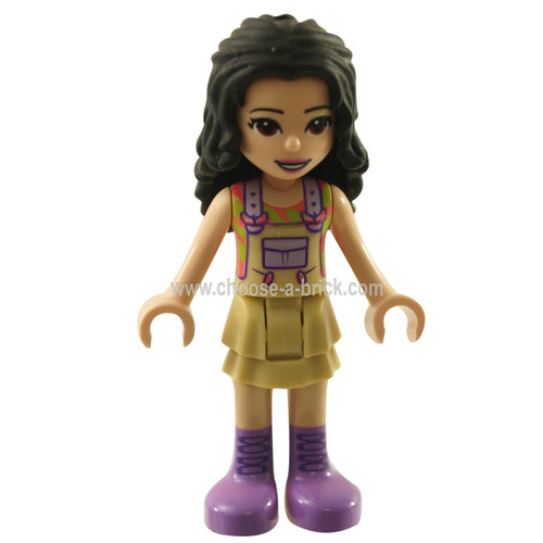 Friends Emma, Tan Dress with Straps, Medium Lavender Boots Add Image Reload Images from Product