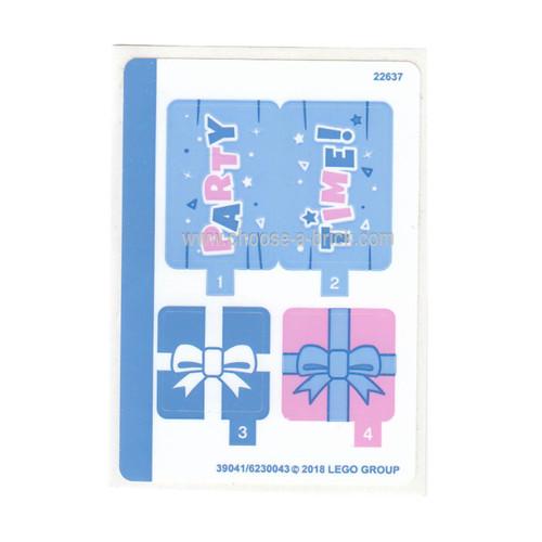 Sticker Sheet for Set 41453 - 39041-6230043