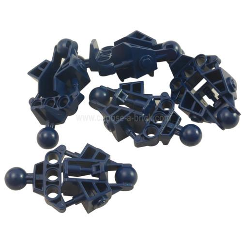 Bionicle Vahki Leg Lower Section dark blue