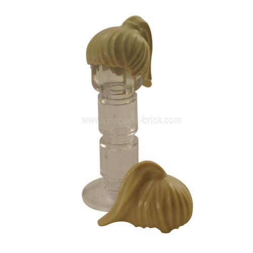 Minifigure, Hair Female Ponytail