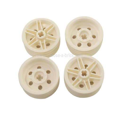 Wheel 30mm D. x 14mm (for Tire 43.2 x 14) white