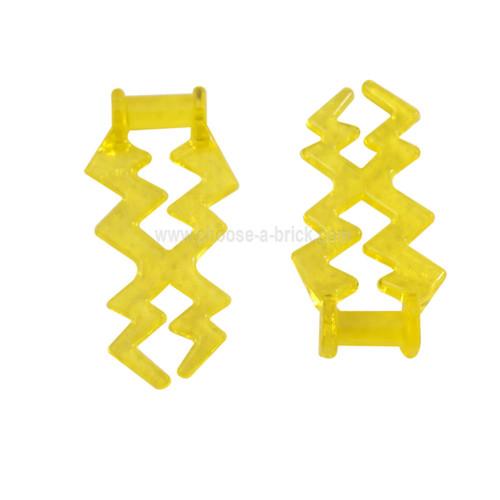 Wave Angular (Electric Zigzag, Castle Magic Spark) trans yellow